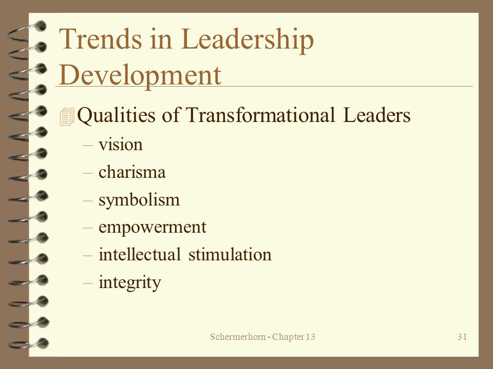 Trends in Leadership Development