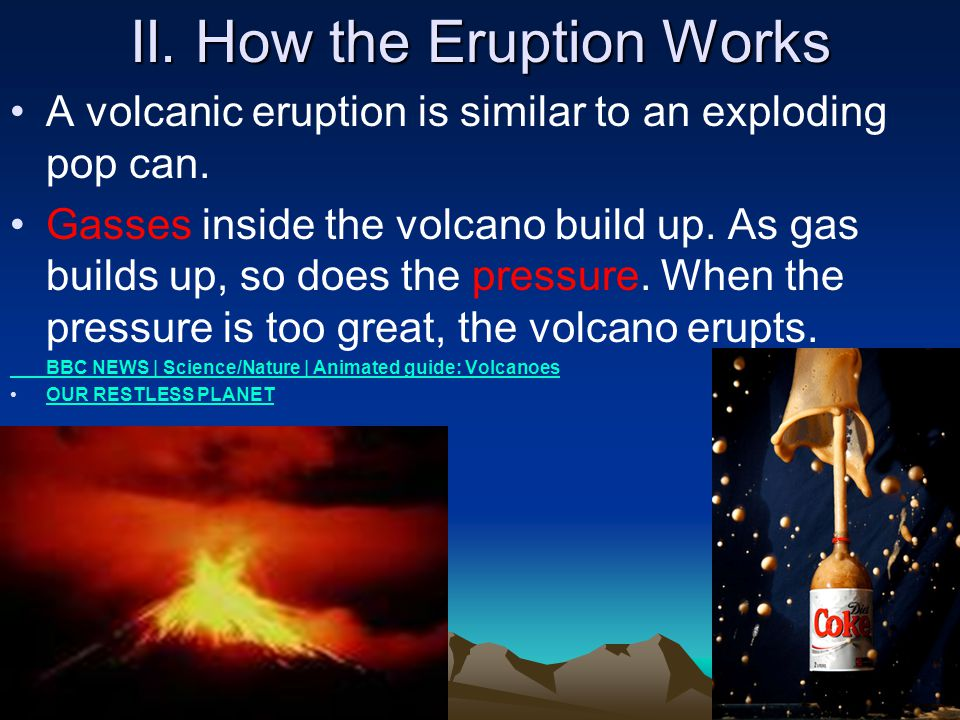 II. How the Eruption Works