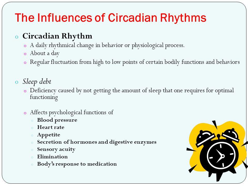 The Influences of Circadian Rhythms