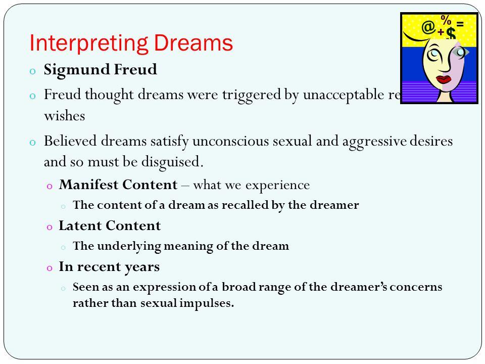 Interpreting Dreams Sigmund Freud