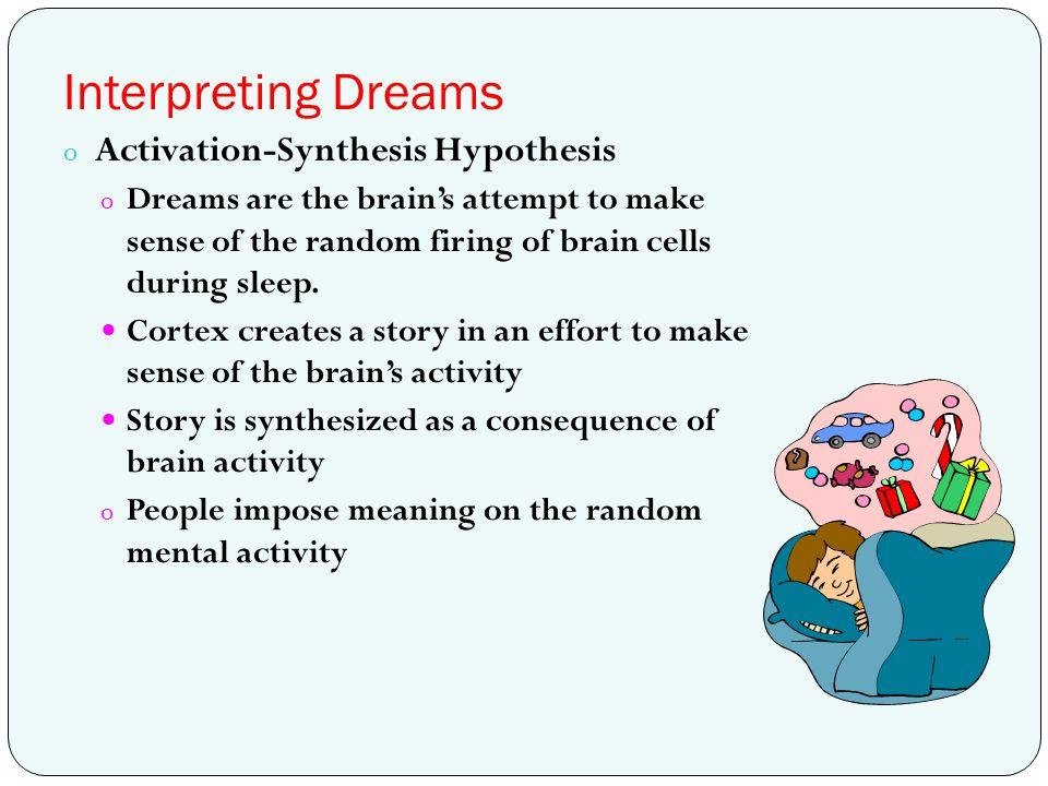 Interpreting Dreams Activation-Synthesis Hypothesis