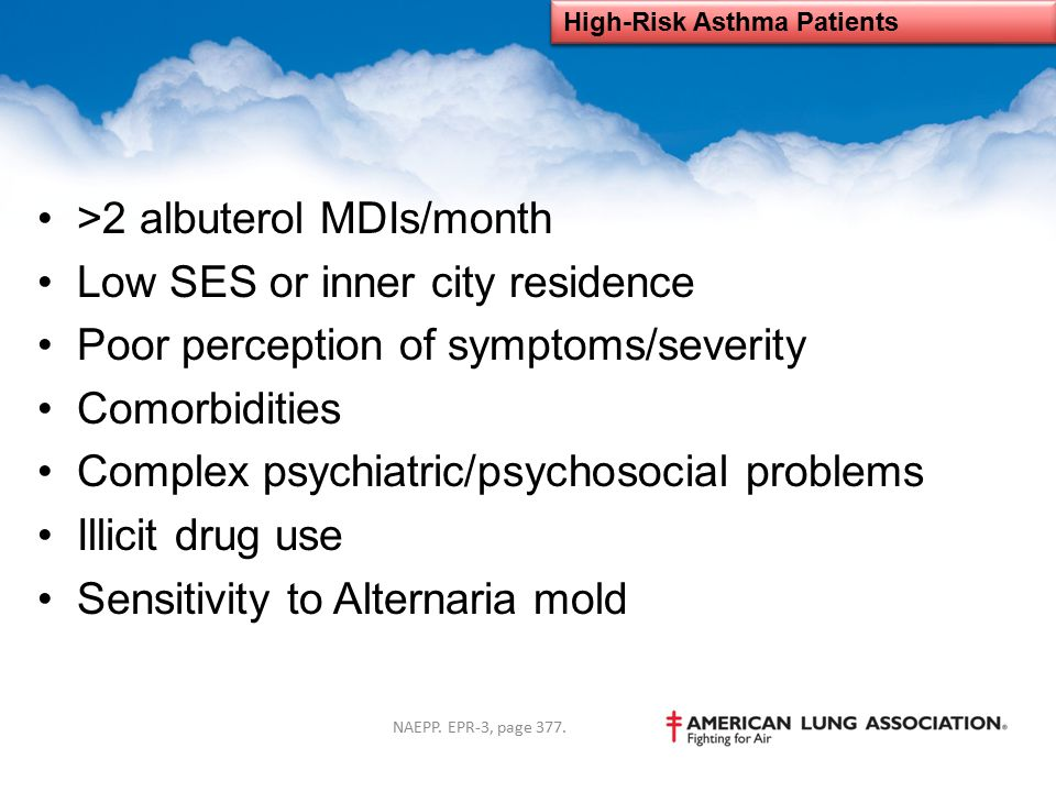 High-Risk Asthma Patients