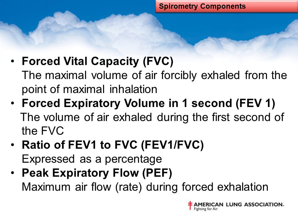 Spirometry Components