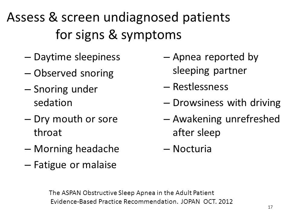 Assess & screen undiagnosed patients for signs & symptoms