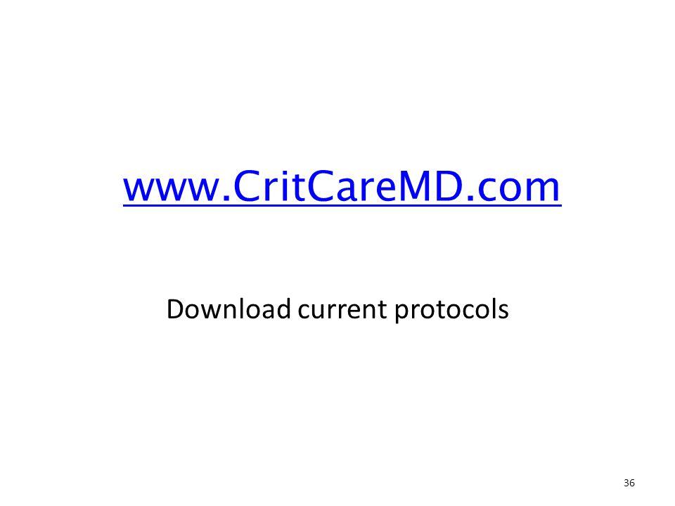 Download current protocols