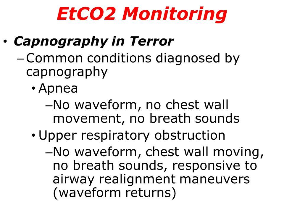 EtCO2 Monitoring Capnography in Terror