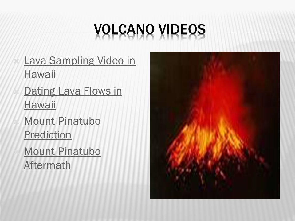 Volcano Videos Lava Sampling Video in Hawaii