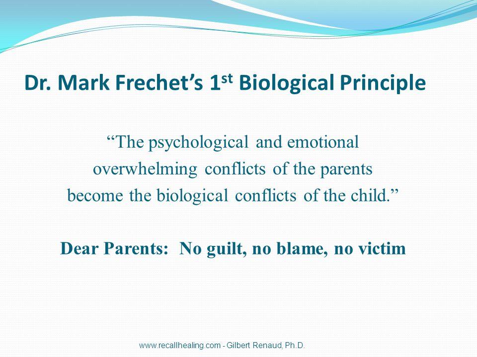 Dr. Mark Frechet's 1st Biological Principle