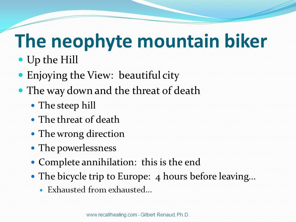 The neophyte mountain biker