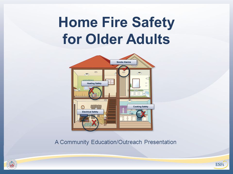 Home Fire Safety for Older Adults