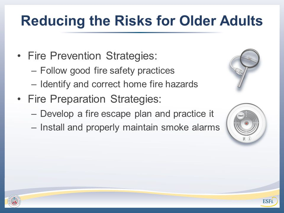 Reducing the Risks for Older Adults