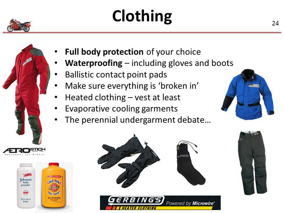 Clothing Full body protection of your choice