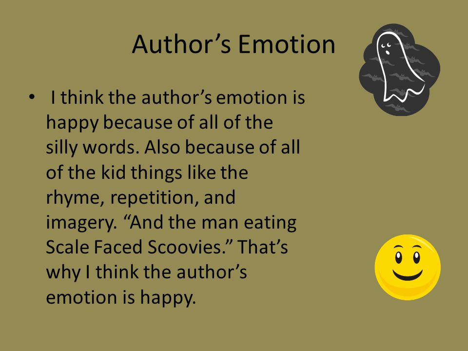 Author's Emotion