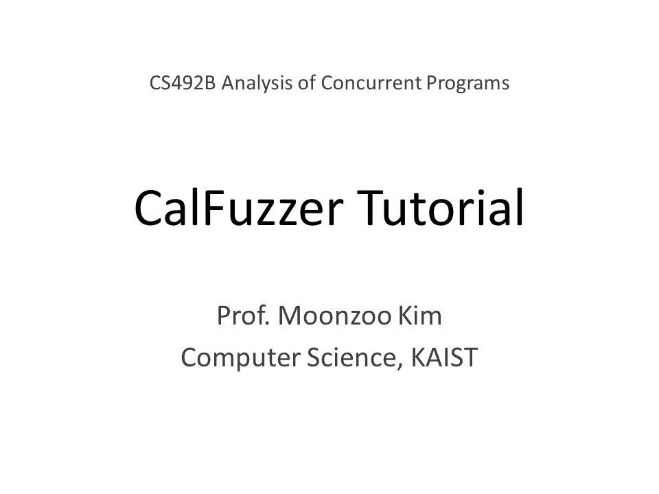 Prof. Moonzoo Kim Computer Science, KAIST
