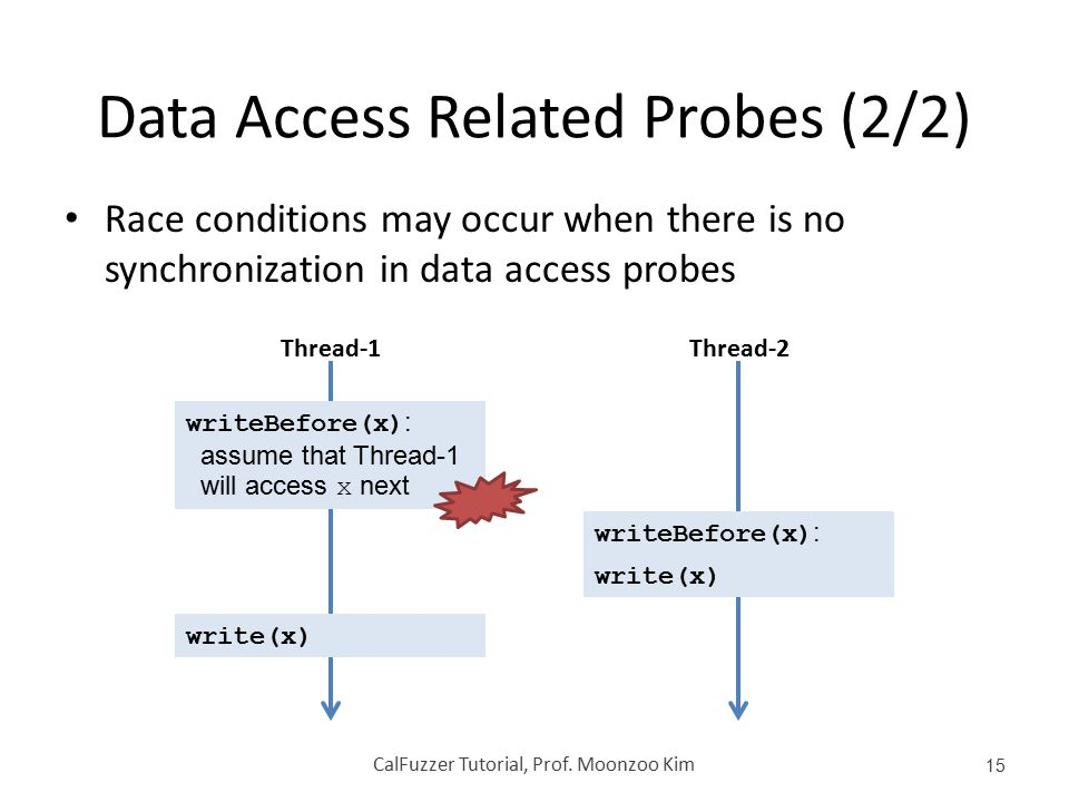 Data Access Related Probes (2/2)