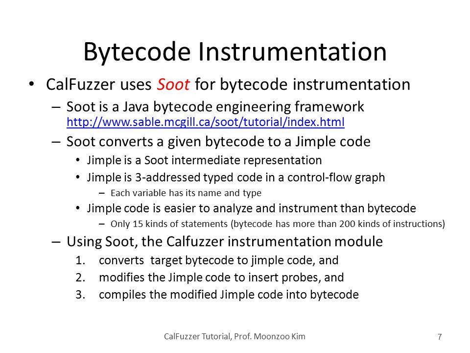 Bytecode Instrumentation