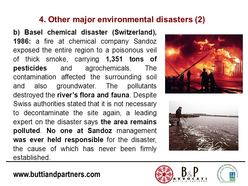 4. Other major environmental disasters (2)