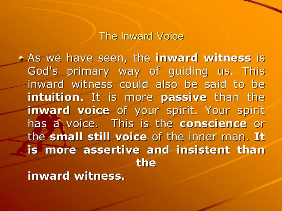 The Inward Voice