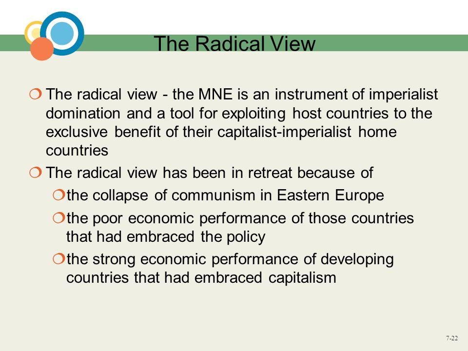 The Radical View