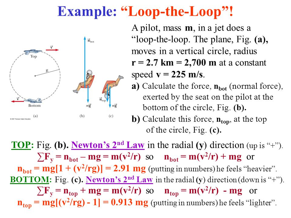 Example: Loop-the-Loop !