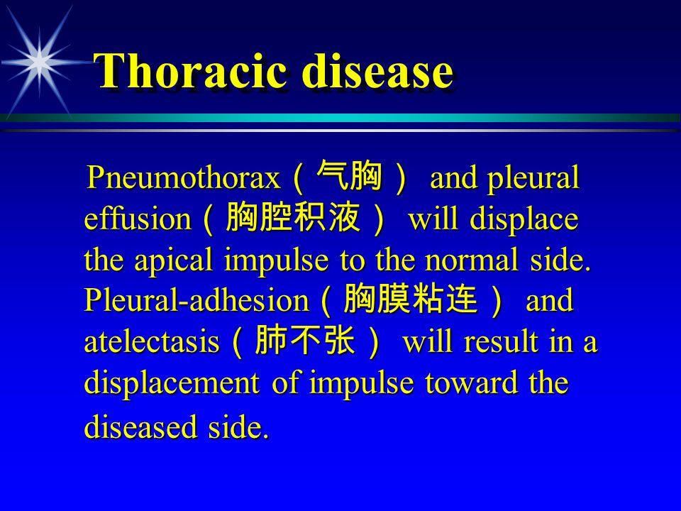 Thoracic disease