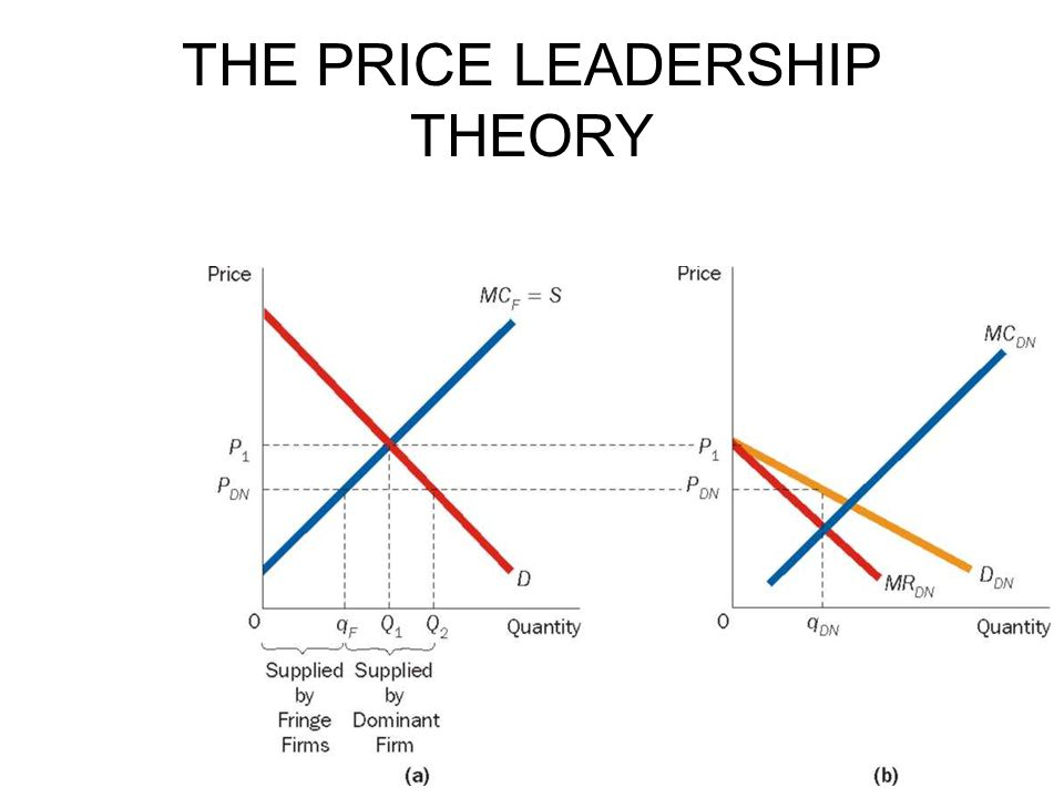 THE PRICE LEADERSHIP THEORY