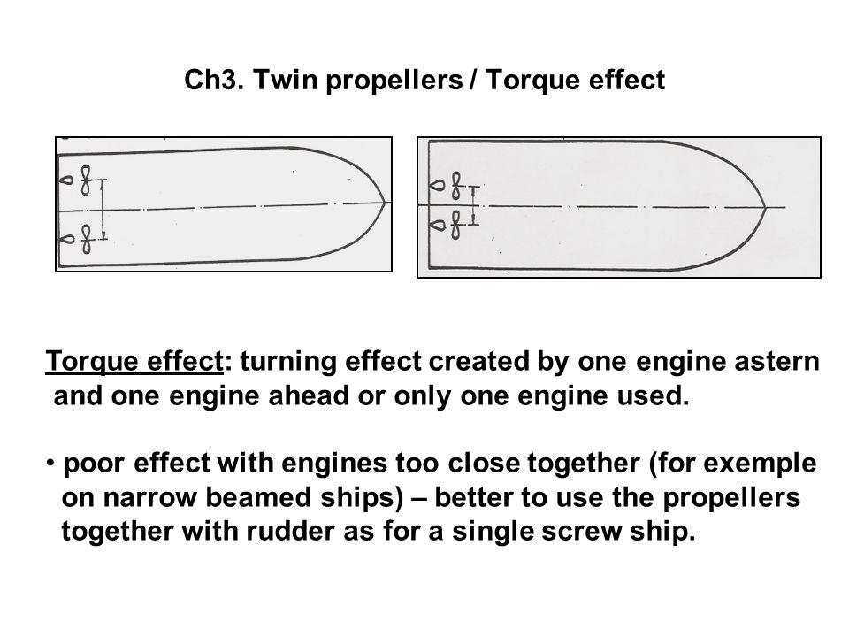 Ch3. Twin propellers / Torque effect