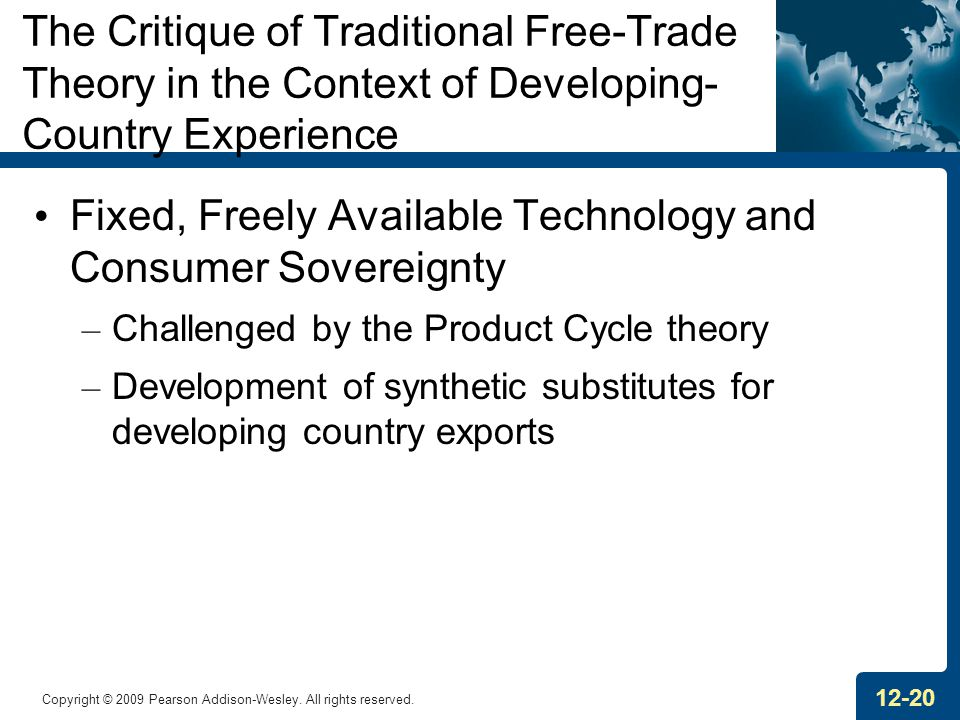 Fixed, Freely Available Technology and Consumer Sovereignty