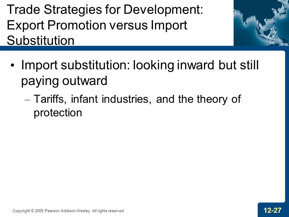 Import substitution: looking inward but still paying outward