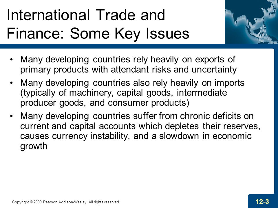 International Trade and Finance: Some Key Issues