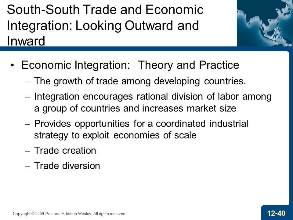 South-South Trade and Economic Integration: Looking Outward and Inward