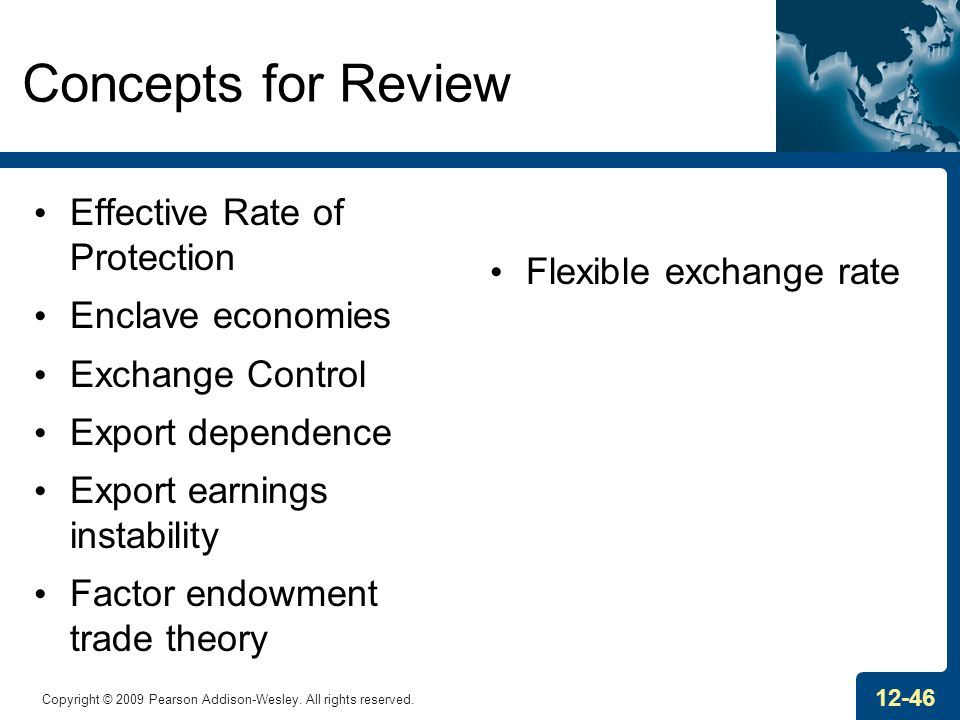 Concepts for Review Effective Rate of Protection