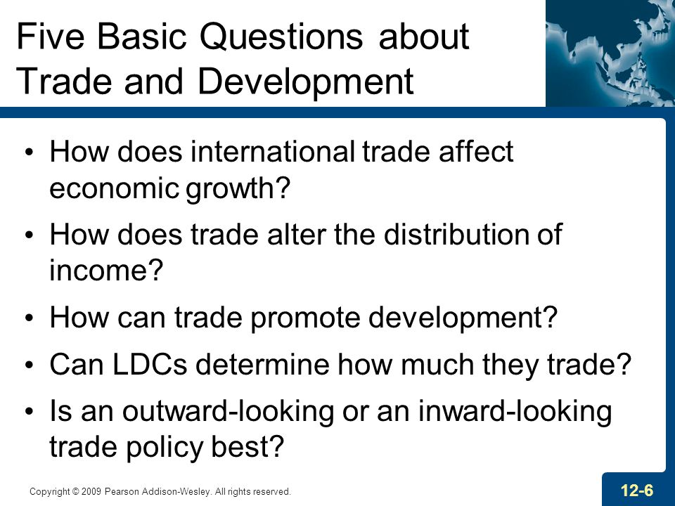 Five Basic Questions about Trade and Development