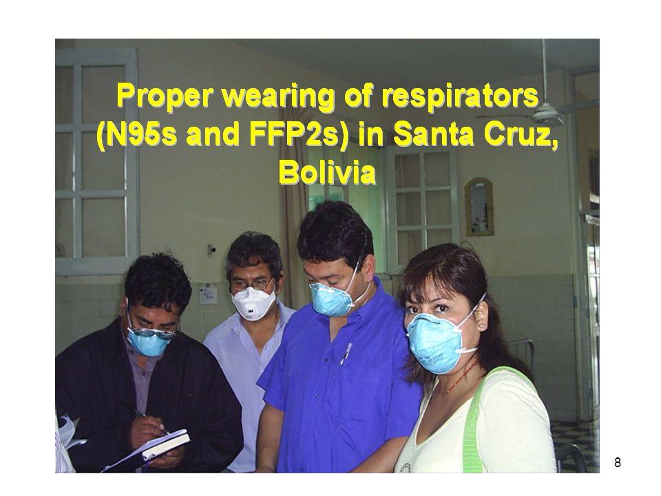 Photo from Control de infecciones de tuberculosis en establecimientos de salud- Módulo de capacitación.