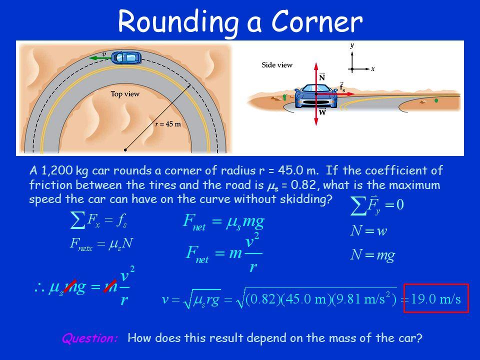 Rounding a Corner