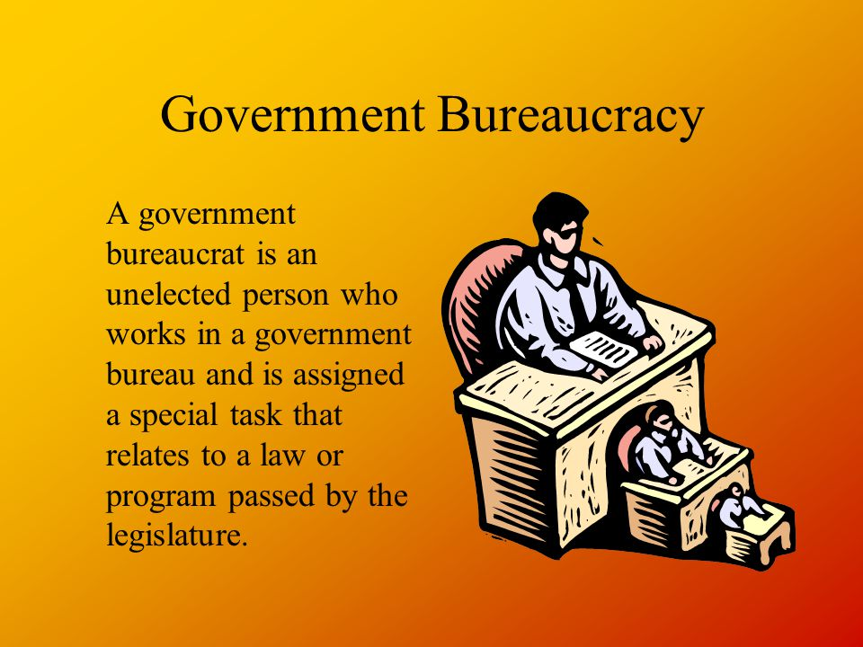 Government Bureaucracy