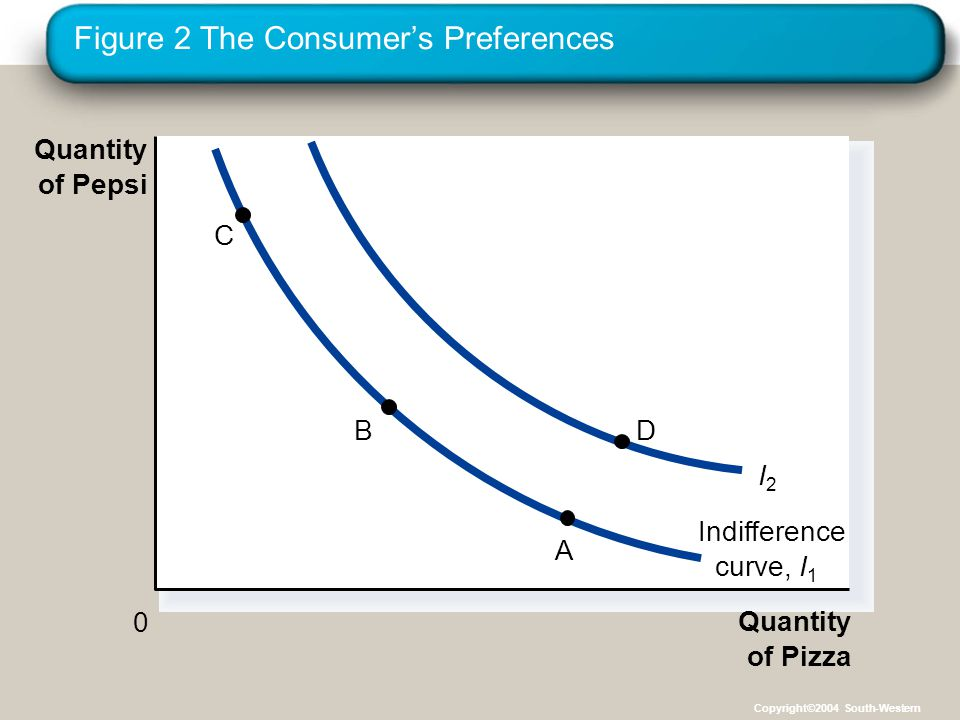 Figure 2 The Consumer's Preferences