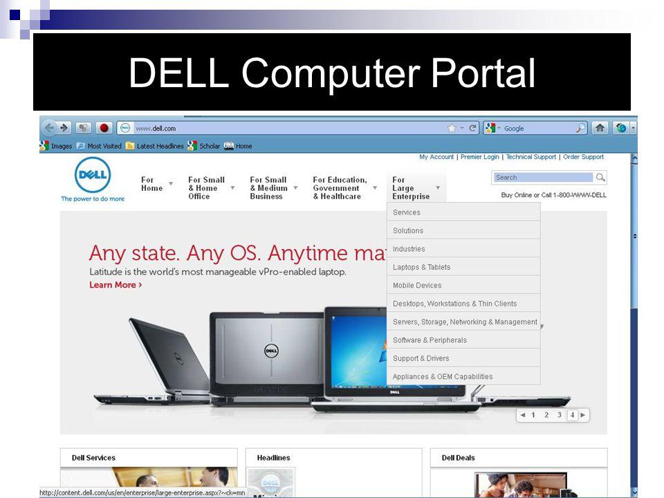 DELL Computer Portal