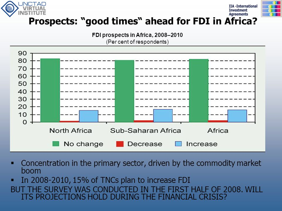 Prospects: good times ahead for FDI in Africa