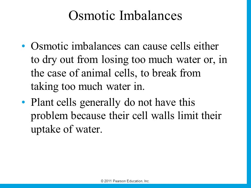 Osmotic Imbalances
