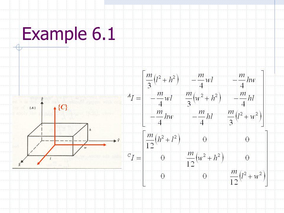 Example 6.1 {C}