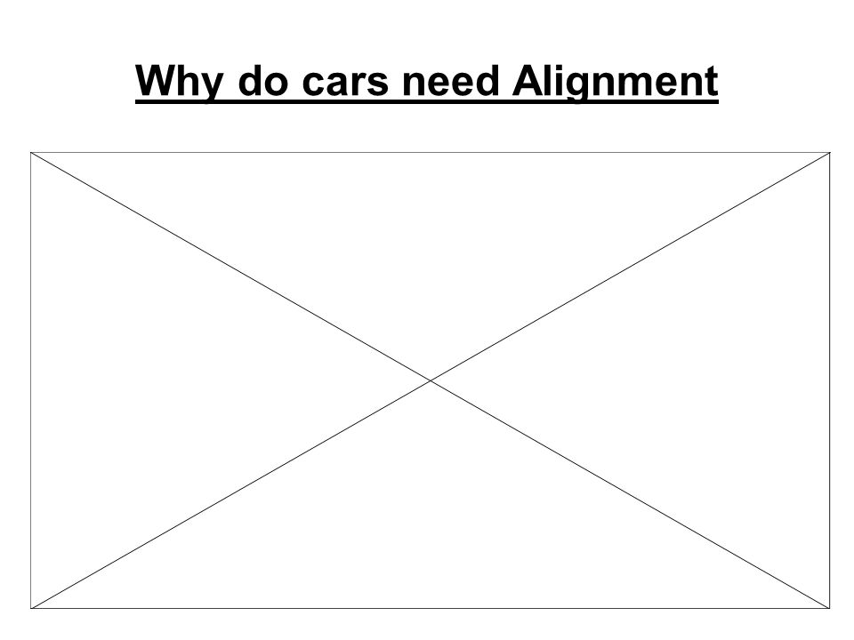 Why do cars need Alignment