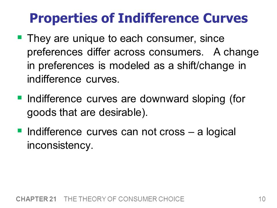 A Critical Dimension of Preferences: Marginal Rates of Substitution