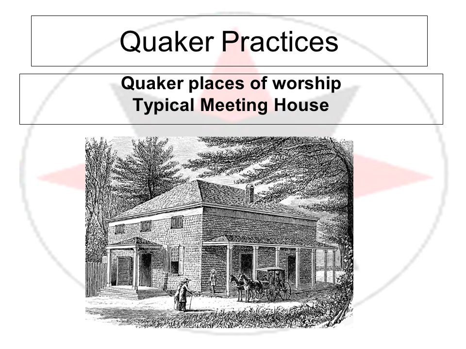 Quaker places of worship