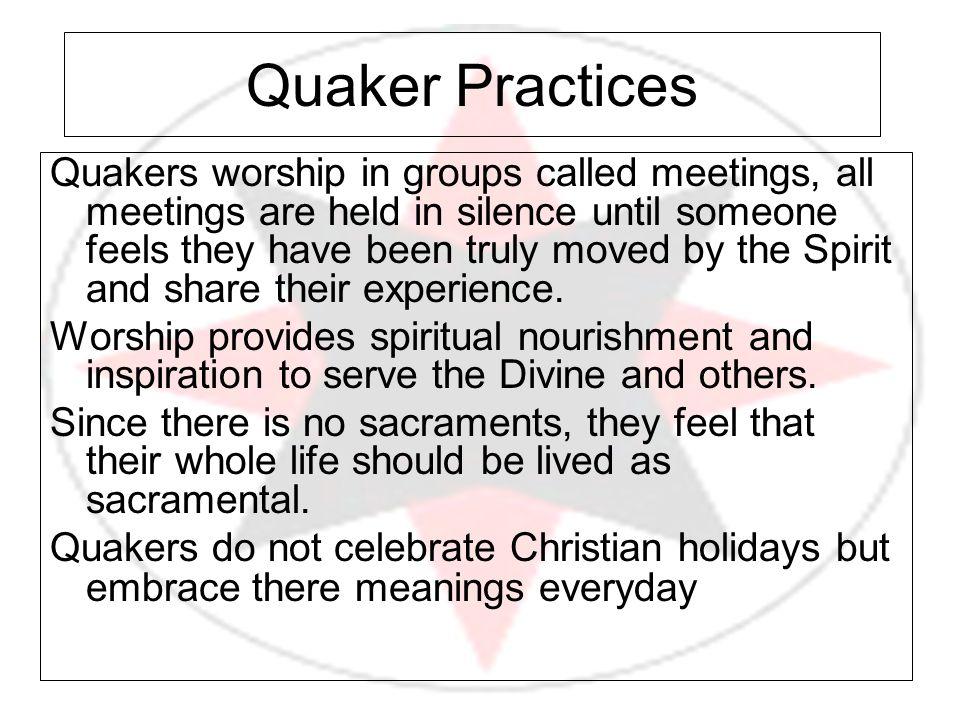 Quaker Practices