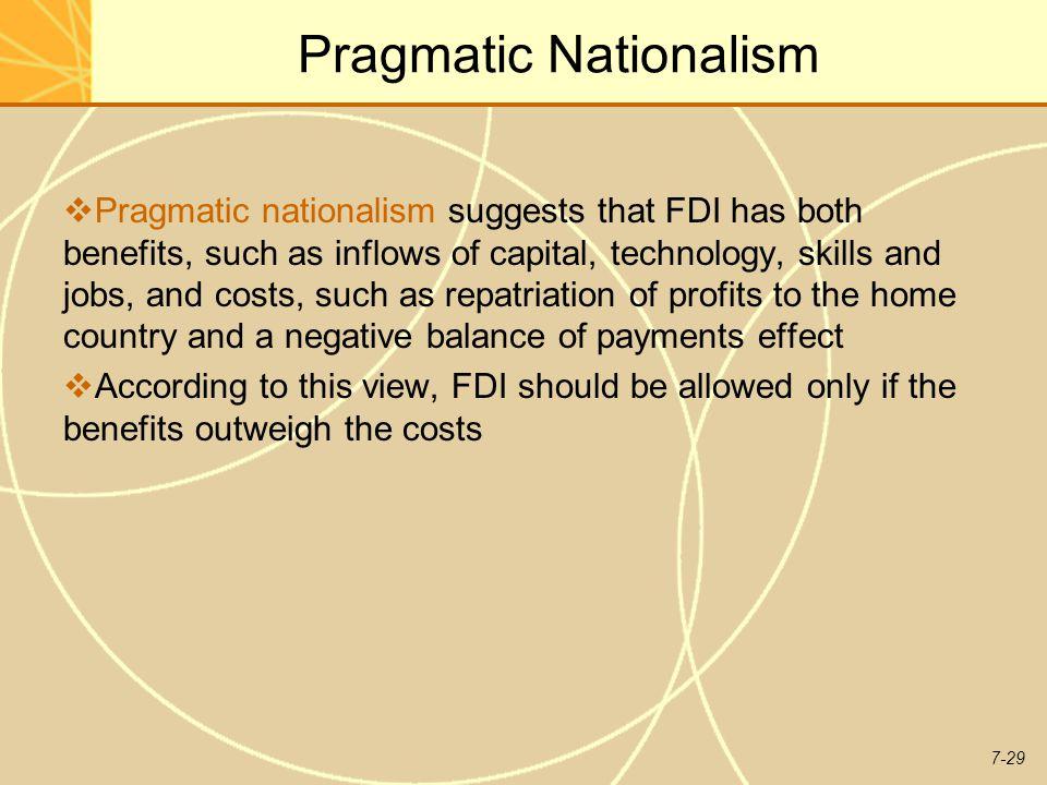 Pragmatic Nationalism