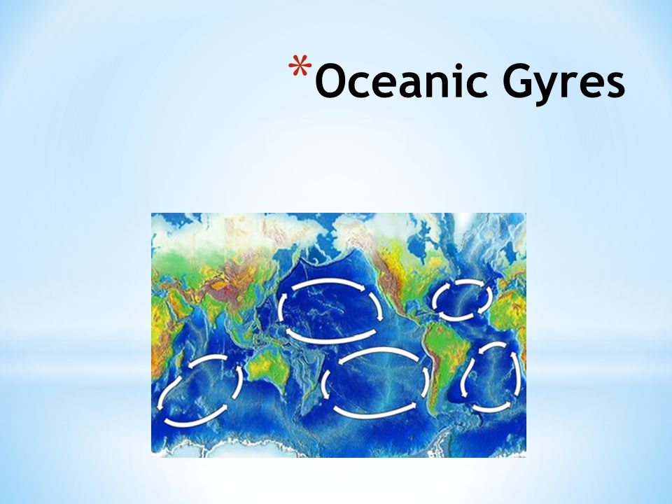 Oceanic Gyres http://commons.wikimedia.org/wiki/File:Oceanic_gyres.png