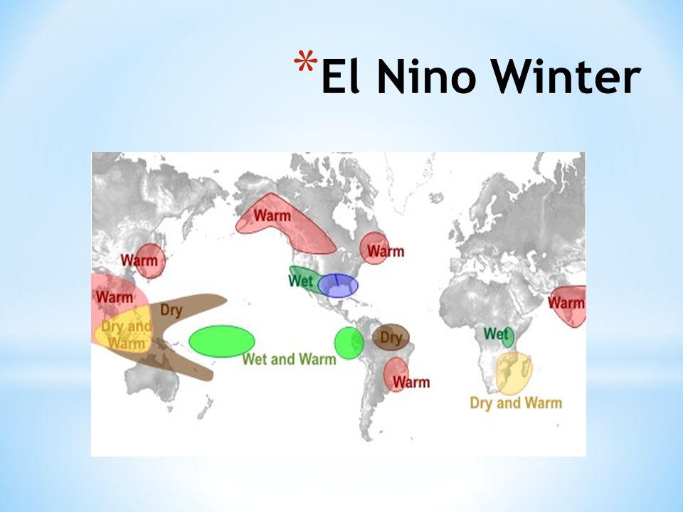 El Nino Winter http://www.srh.noaa.gov/crp/ n=education-elninoandlanina 68