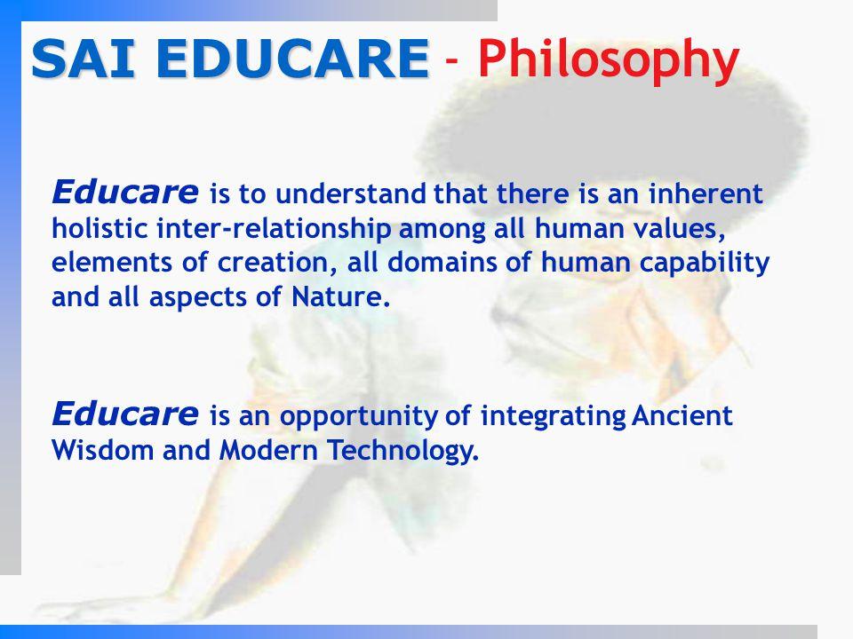 SAI EDUCARE - Philosophy