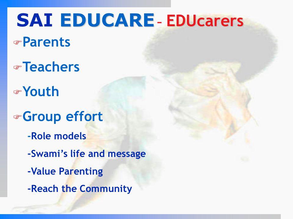 SAI EDUCARE - EDUcarers Parents Teachers Youth Group effort
